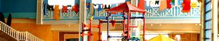 Juegos de Agua: El mejor lugar para que los más pequeños disfruten a lo grande en los juegos de agua de El Gran Caribe, la zona interior de PortAventura Aquatic Park.