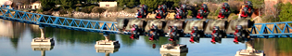 Furius Baco: Siente la aceleración con la montaña rusa más rápida de Europa: Furius Baco de PortAventura. Una montaña rusa inspirada en una Casa productora de vinos de la Mediterrània, y un loco inventor, que ha fabricado una divertida máquina para trasladar los botes de vino a toda velocidad.