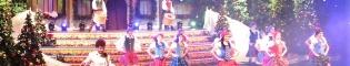Una Navidad con Amor: Espectáculo musical con bailes y acrobacias con artistas internacionales, que recrea lo que sucede en el patio de la casa de Papa Noël durante la Navidad, en el Gran Teatre Imperial de PortAventura.